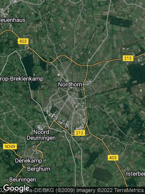 Google Map of Nordhorn