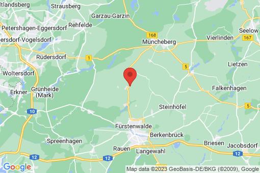 Karte Steinhöfel Beerfelde