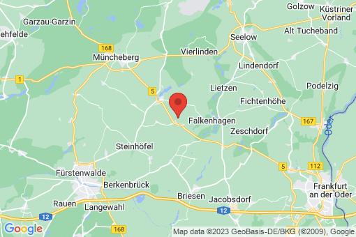 Karte Steinhöfel Arensdorf