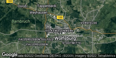 Google Map of Wolfsburg