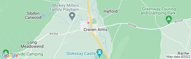 Map Of Craven Arms