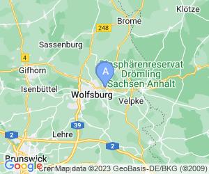 Karte für ipartment Wolfsburg