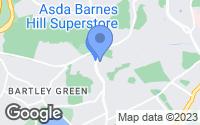 Map of Birmingham, West Midlands