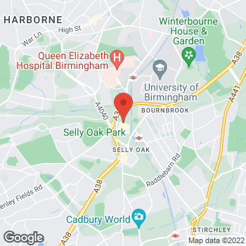 Map of wilko Selly Oak at Selly Oak Shopping Park, Birmingham,  B29 6SN