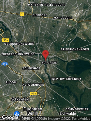 Google Map of Treptow-Köpenick