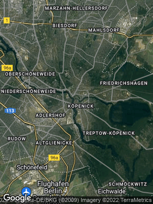 Google Map of Köpenick
