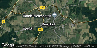 Google Map of Burgdorf