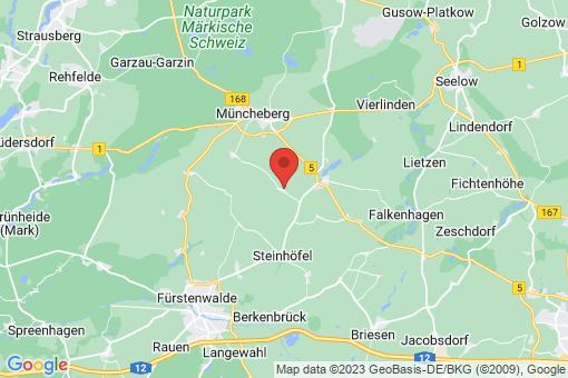 Karte Steinhöfel Tempelberg