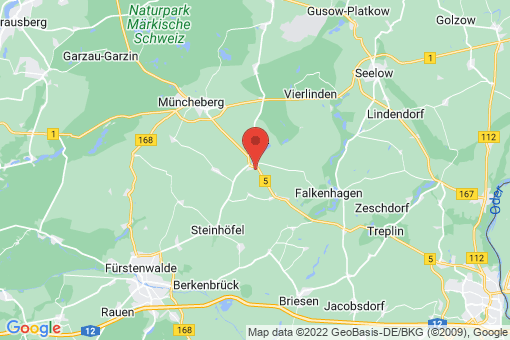 Karte Steinhöfel Heinersdorf