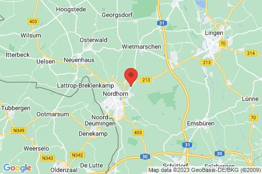 Karte Nordhorn