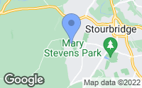 Map of Stourbridge, West Midlands