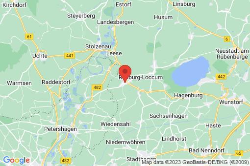 Karte Rehburg-Loccum Loccum