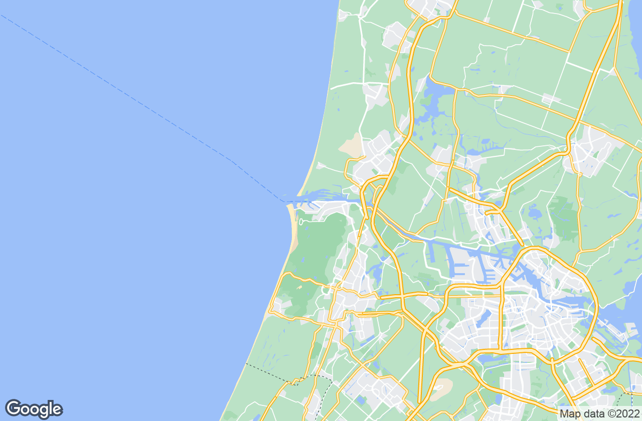 Google Map of Ijmuiden