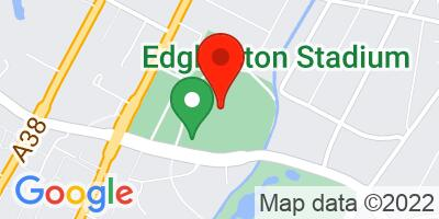 Map of Edgbaston