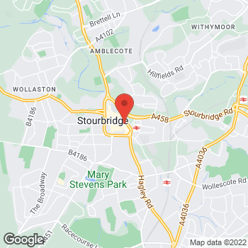 Map of wilko Stourbridge at 64-67 High Street, Stourbridge,  DY8 1DX