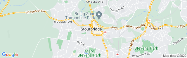 Map Of Stourbridge
