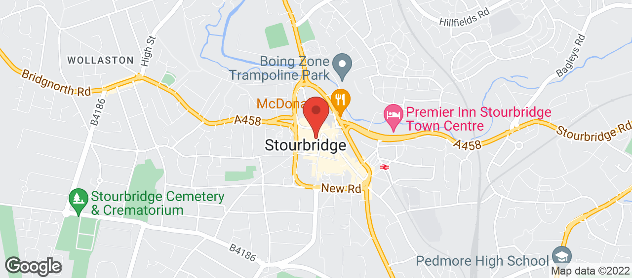 Stourbridge Library location and directions