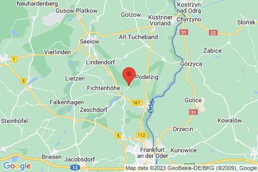 Karte Fichtenhöhe Carzig