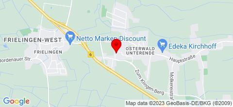 Google Map für Haus Freyer