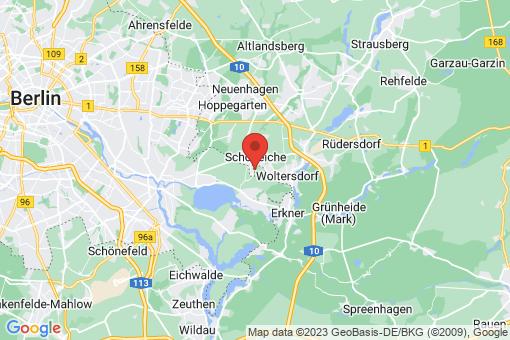 Karte Schöneiche bei Berlin