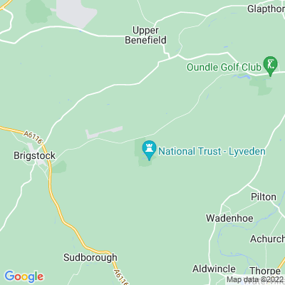 Lyveden New Bield Location