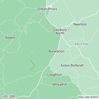 Burwarton Hall Location