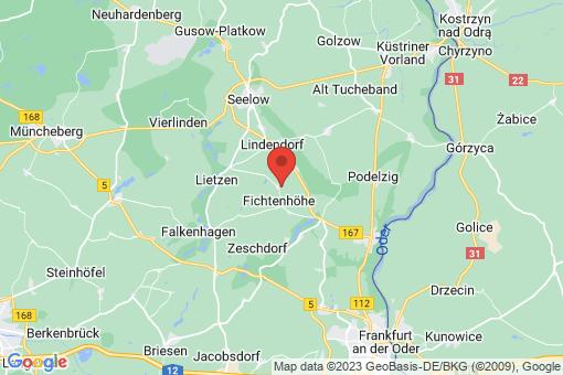 Karte Fichtenhöhe Alt Mahlisch
