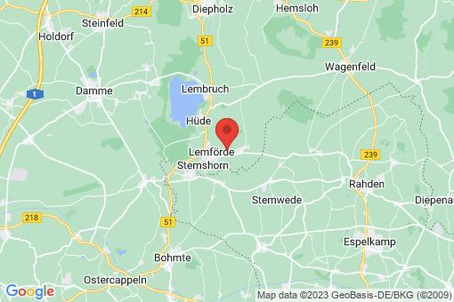 Karte Quernheim