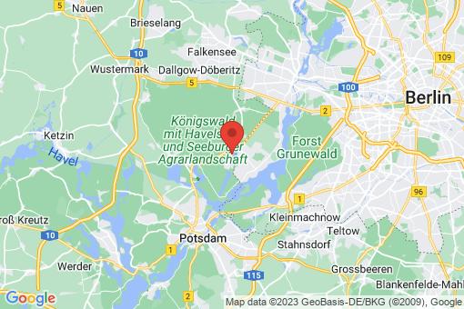 Karte Groß Glienicke