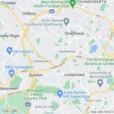 Warley Park Location