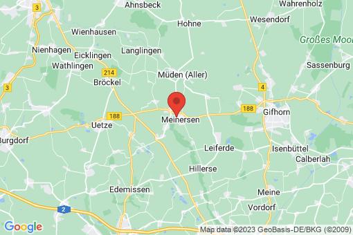 Karte Meinersen