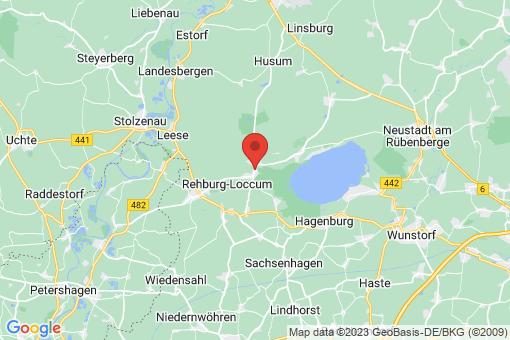 Karte Rehburg-Loccum Rehburg