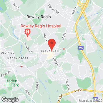 Map of wilko Blackheath at 5 Oldbury Road, Rowley Regis,  B65 0NL