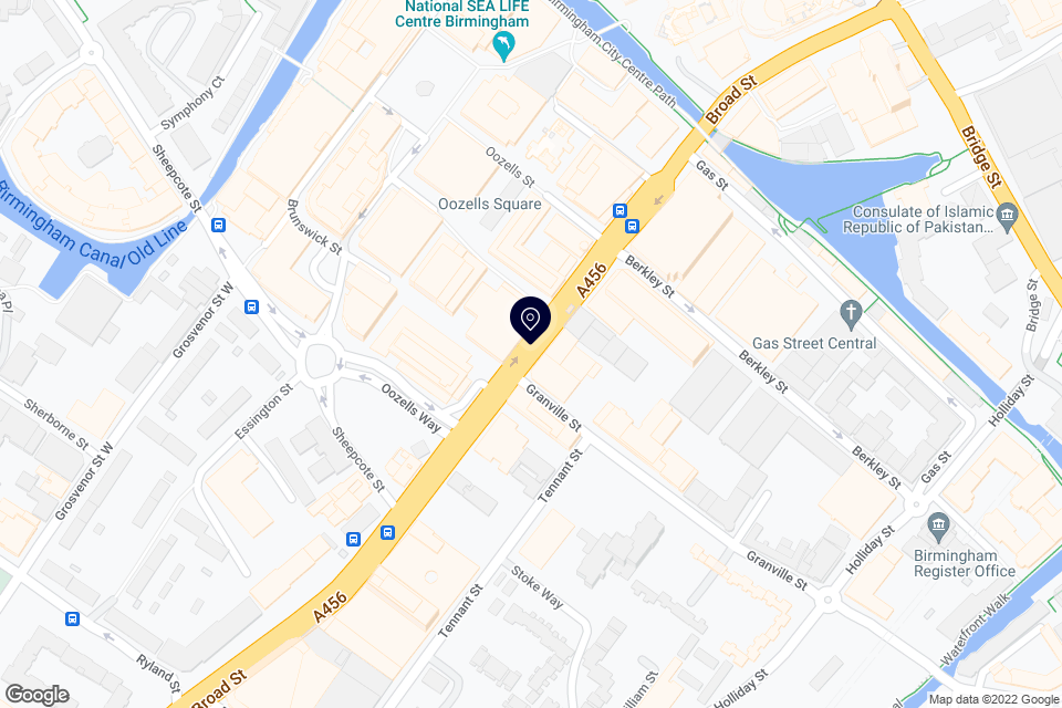 Broad St, Birmingham, B1 2EA map