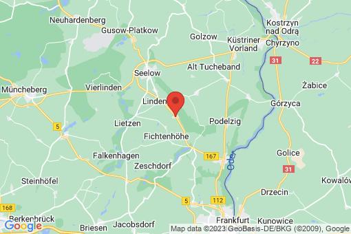 Karte Lindendorf Libbenichen