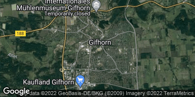 Google Map of Gifhorn