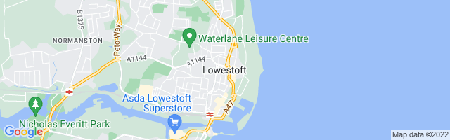 Map Of Lowestoft