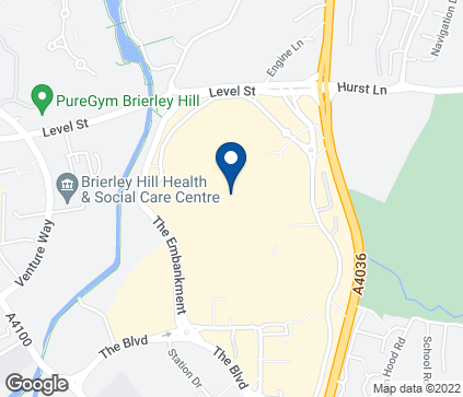 Map of 51 Merry Hill Centre in Brierly Hill
