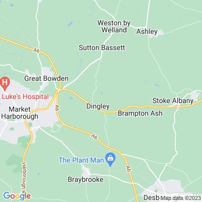 Dingley Hall Location