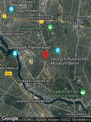 Google Map of Karlshorst