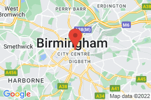 Birmingham Children's Hospital - Library and Knowledge Service on the map