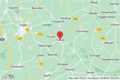 Karte Freren
