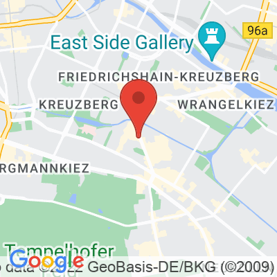 Map showing Kaffeekirsche Roastery, Böckhstraße