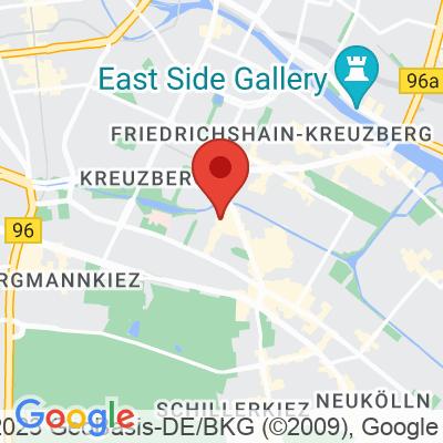 Map showing Kaffeebar