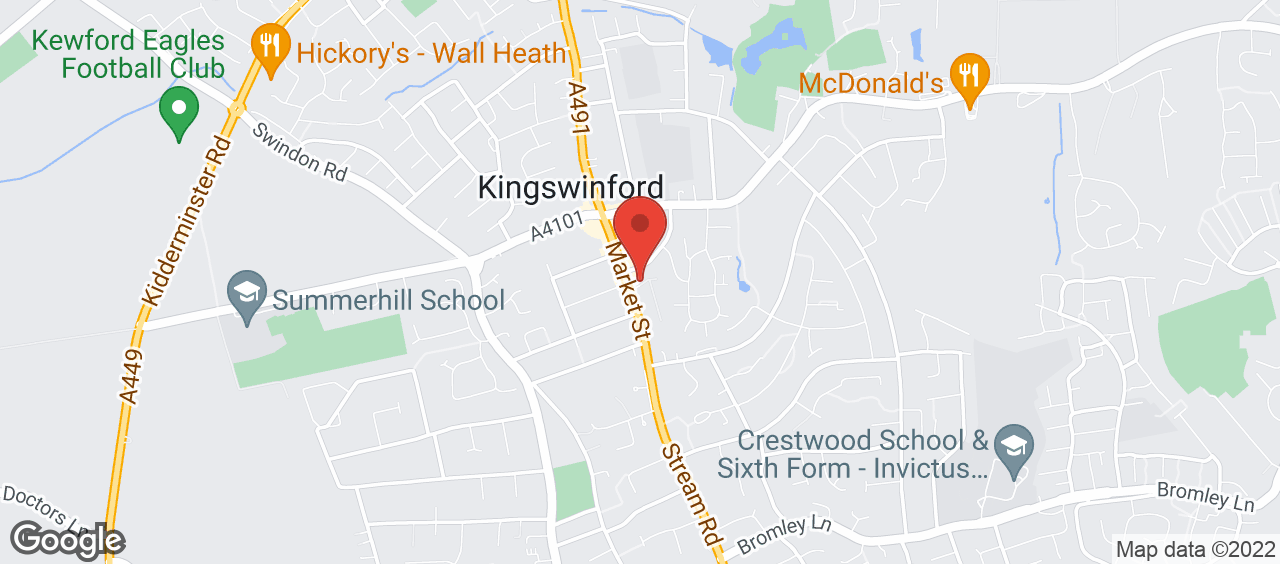 Kingswinford Library location and directions