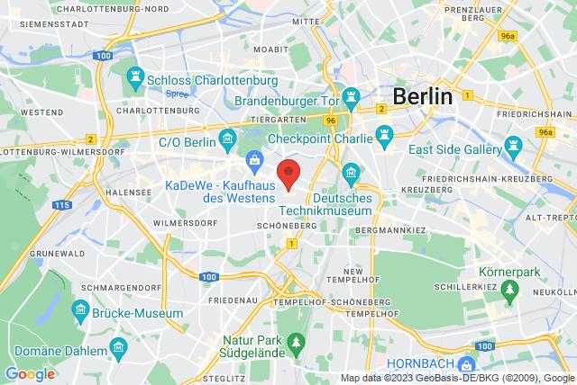 Spine Pilatesstudio Map