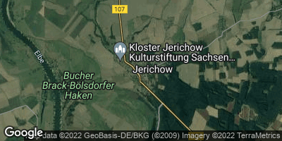 Google Map of Jerichow