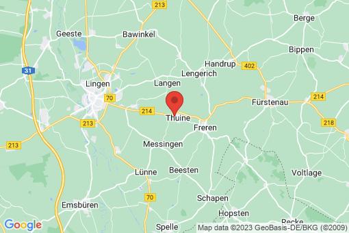Karte Thuine
