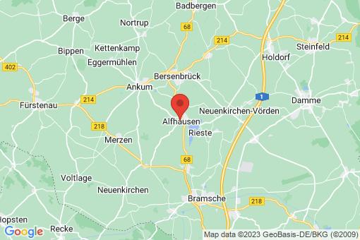 Karte Alfhausen