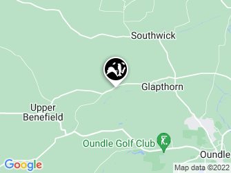 A static map of Glapthorn Cow Pastures